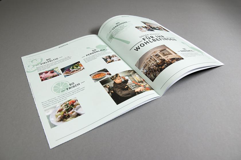 Magazin Markthalle Cafe Prag
