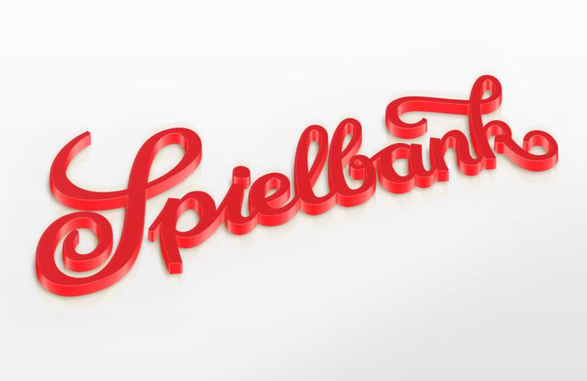 SPIELBANK DRESDEN – Schriftzug