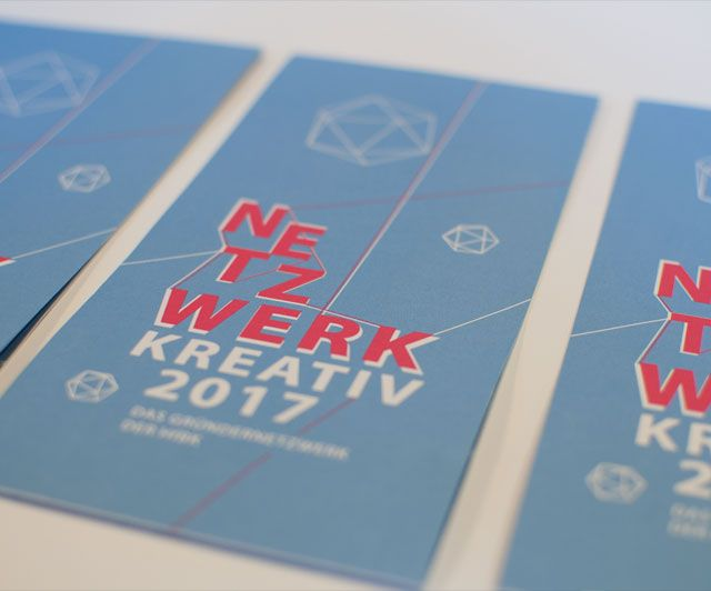 NETZWERK KREATIV – Flyer