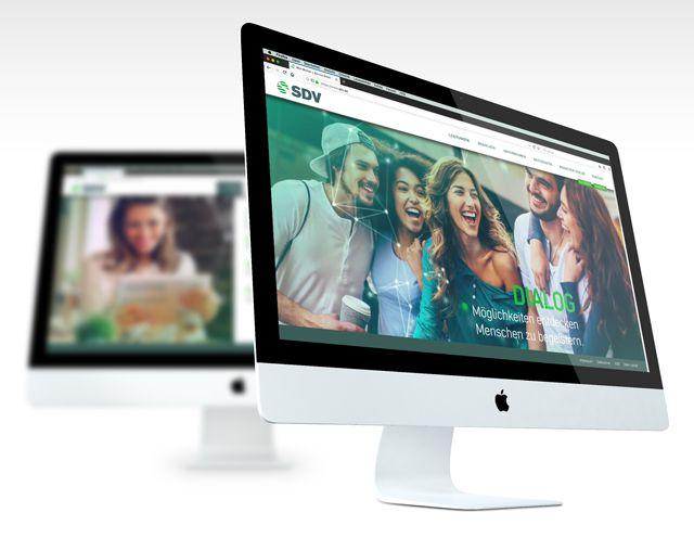 SDV – Webseite